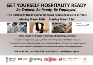 Hospitality Flyer March 2017