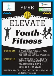 Elevate Fitness flyer